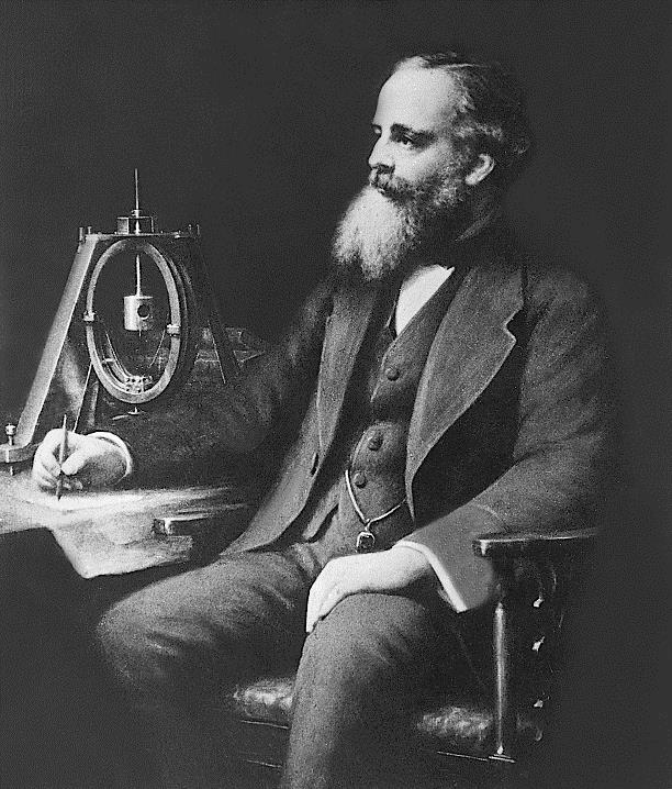 James Clerk Maxwell (1831-1879), (grafika G. J. Stodart)